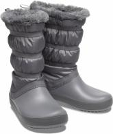Womens Crocband Winter Boot Charcoal