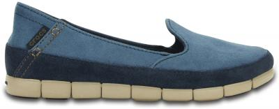 Crocs Stretch Sole Suede Skimmer