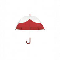 Original Welded Moustache Bubble Umbrella UAU1004UPM MILITARY RED
