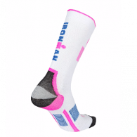 Ironman Compression 3/4 white/pink