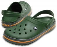Crocband  Forest Green / Slate Grey